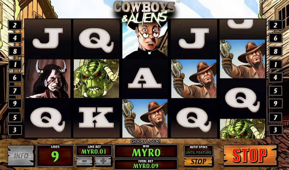 cowboy and aliens